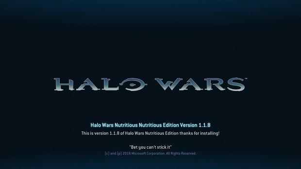 Halo Wars Nutritious Edition 1.1.8