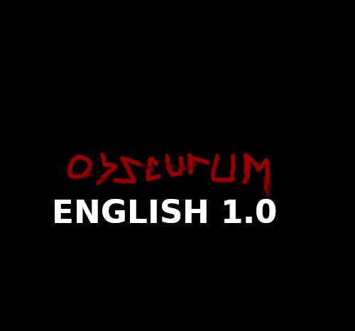 Obscurum 1.0 ENGLISH