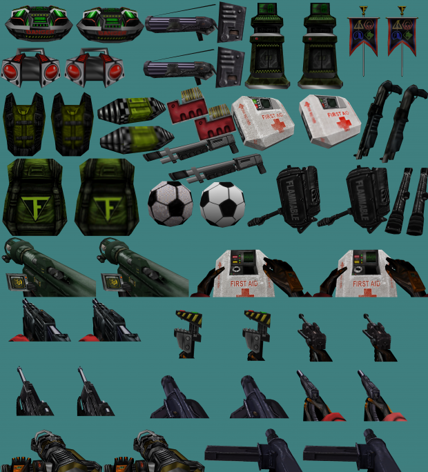 TFC High resolution item textures