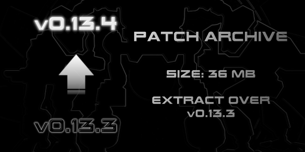 Patch Archive - 0.13.3 to 0.13.4