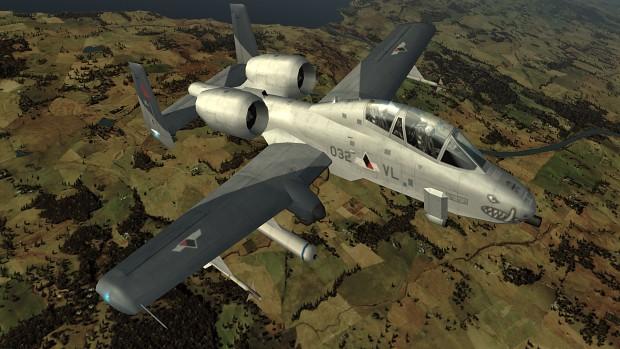 Ace Combat Zero: The Belkan War - YA-10B mod