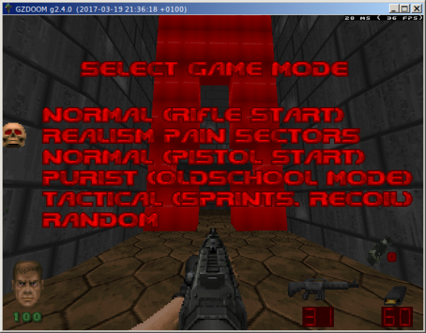 """B.W.O. BrutalDoom v21 Weapons-Only Version - revision C """"Pain Sectors"""""""