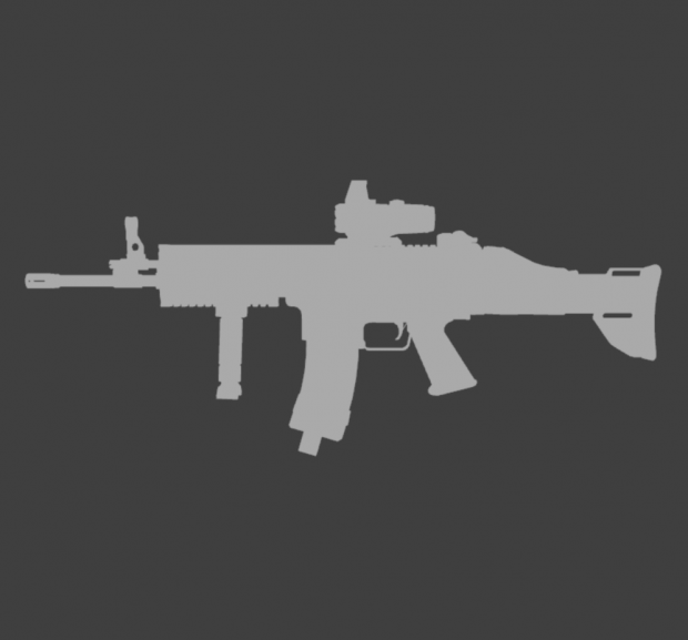 [Wei Wang's rig required] Custom SCAR-L