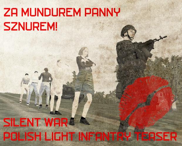 Silent War Polish Light Infantry Teaser