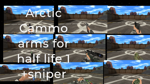 arctic cammo for half life 1