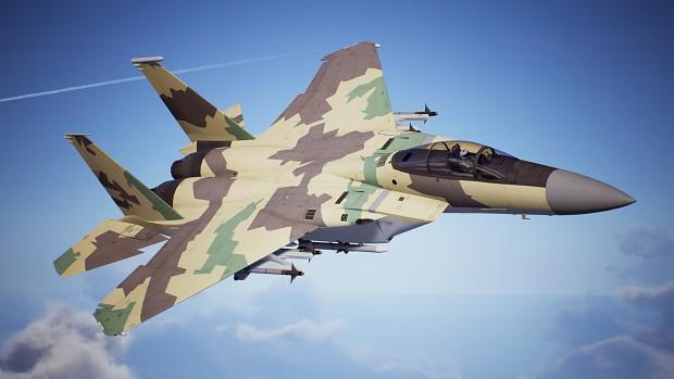 F-15C -Yellow Splinter-