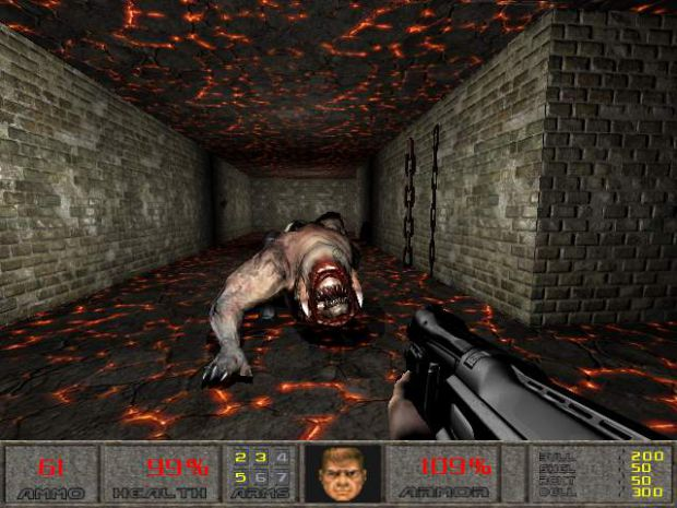 Doom 2 hell hole (demo) for doom3