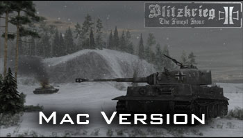 Blitzkrieg 2: The Finest Hour v2.6 (Mac version)