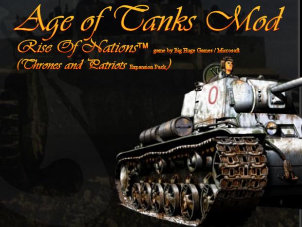 Age of Tanks mod - RON (TaP) - 2.3 BETA version