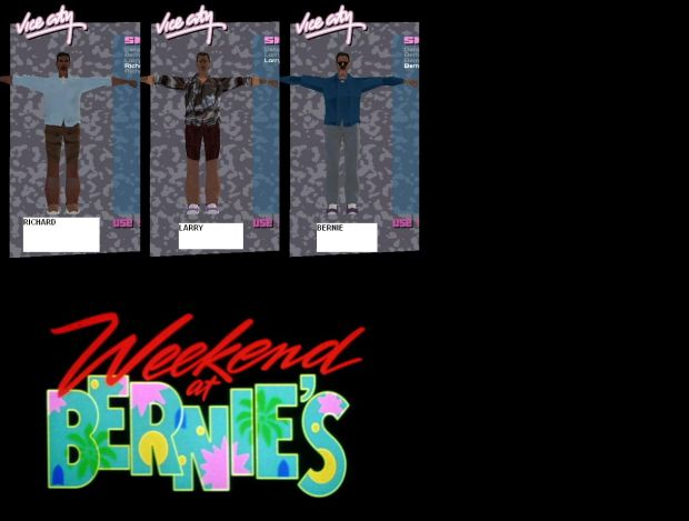 Weekend At Bernies Skin 3Pack