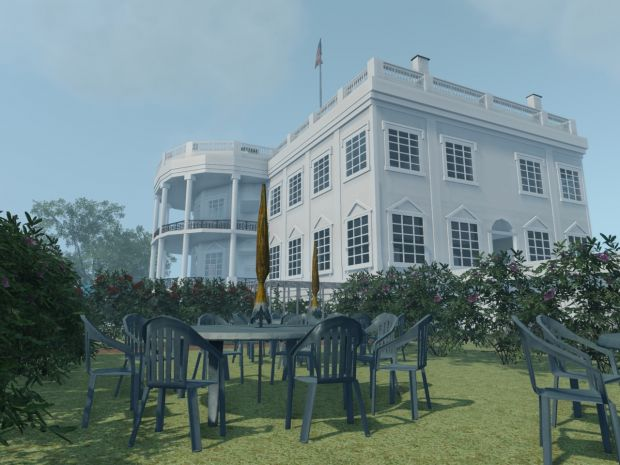 White House (Instant Action level for Crysis)