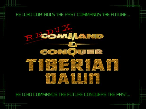 C&C Tiberian Dawn Redux v1.3 Improved Launcher