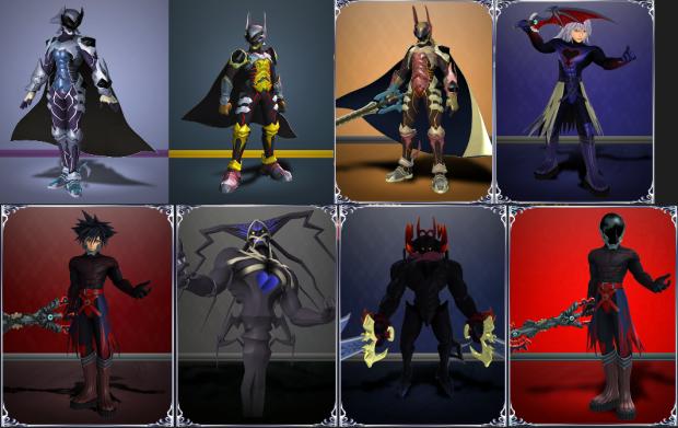 Kingdom Hearts III 3d Models