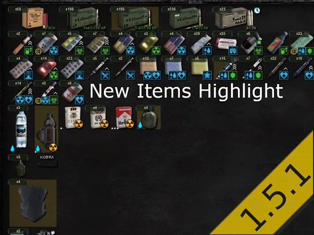 New Item Highlight
