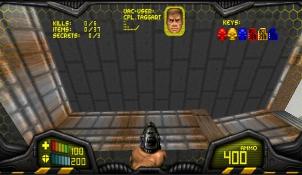 HUD Visor Doom Color v 1.1