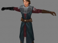 Anakin in Clone Wars armor (for modders)