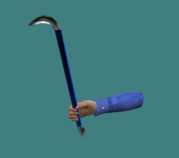 Blue Crowbar
