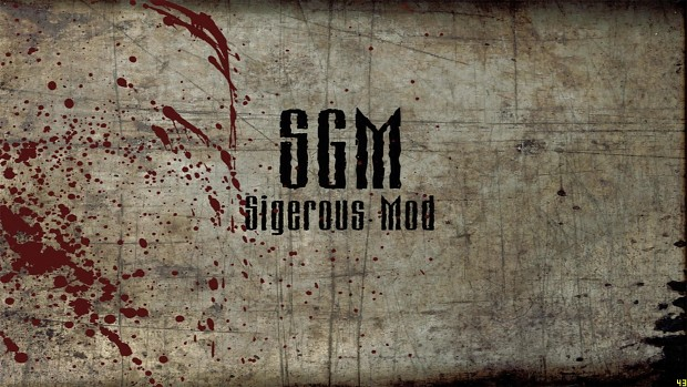 Main Menu sound track from Sigerous Mod (SGM)