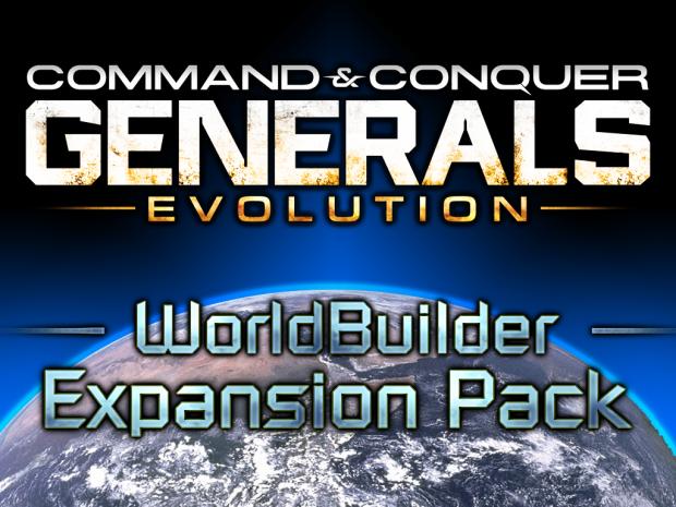 [ Generals Evolution ] WorldBuilder SDK