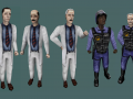 Variety of Scientists and Security Guards (FOR MODERS)