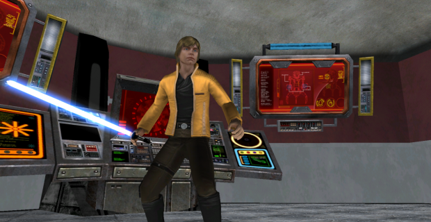 Luke Skywalker - Yavin (for modders)