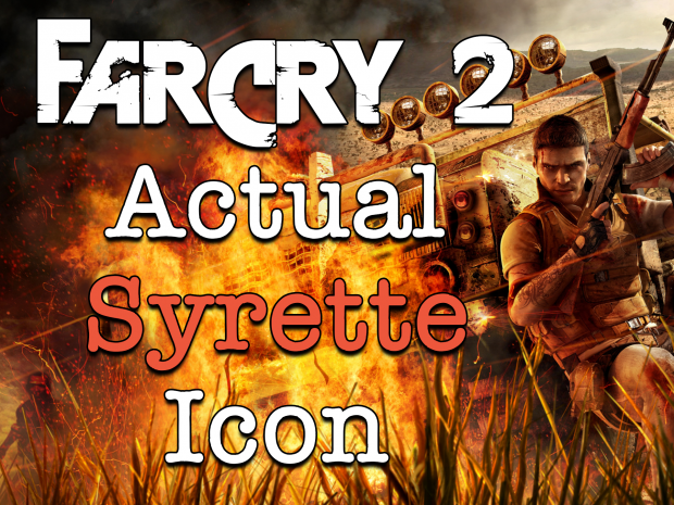 Far Cry 2   Actual Syrette Icon v1.0