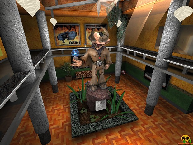 Slow music by Dieselkopf for ENTE's PadGallery deLuxe for Quake 3 Arena