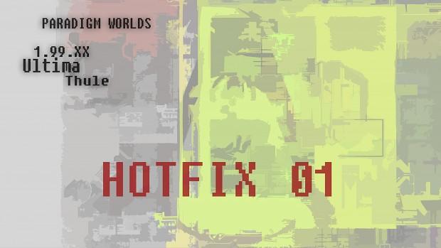 Paradigm Worlds - Ultima Thule - HOTFIX 01