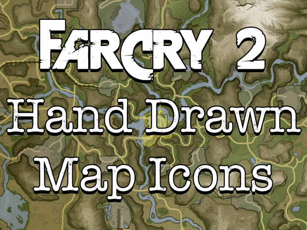 Far Cry 2: Hand Drawn Map Icons v1.0