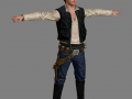 Han Solo model replacement (for modders)