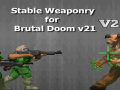 Stable Weaponry For Brutal Doom V21 V2