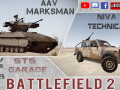 BF2. New Mods: AAV Marksman and NIVA Technical