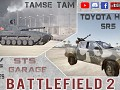 BF2. New Mods: TAMSE TAM and Toyota Hilux SR5