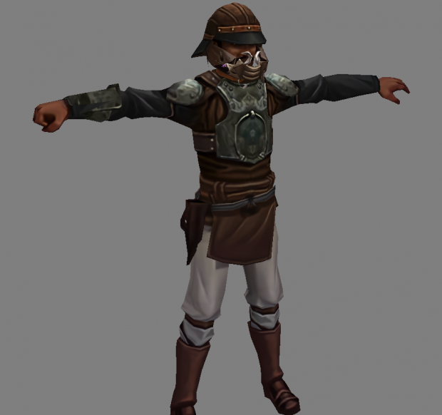 Lando Calrissian - Disguised (for modders)