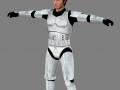 Han Solo - stormtrooper (for modders)