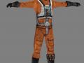 Luke Skywalker - Pilot (for modders)