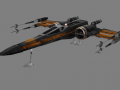 Poe Dameron's X-Wing (for modders)