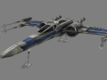 Resistance X-Wing (for modders)
