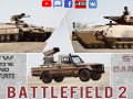 BF2. New Mods: BTR-T, IFV Puma and Toyota Rocket Launcher
