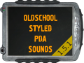 Oldschool styled PDA sounds