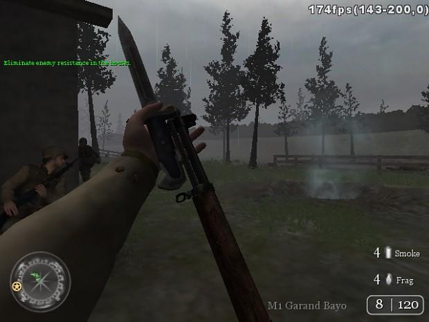CoD:WaW M1 Garand Bayo (SP)