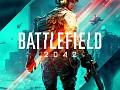 menu for Battlefield 2 in the style of Battlefield 2042
