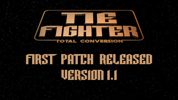 TIE Fighter Total Conversion (TFTC) v1.1 Patch