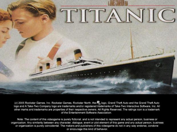 LoadingScreen Titanic Mod Gta San Andreas