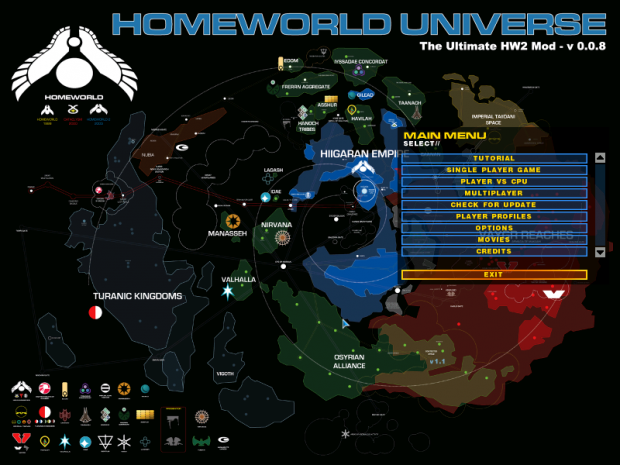 Homeworld Universe map pack