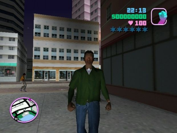 Newer Cj BETA Test Skin V0.5 For Vice City