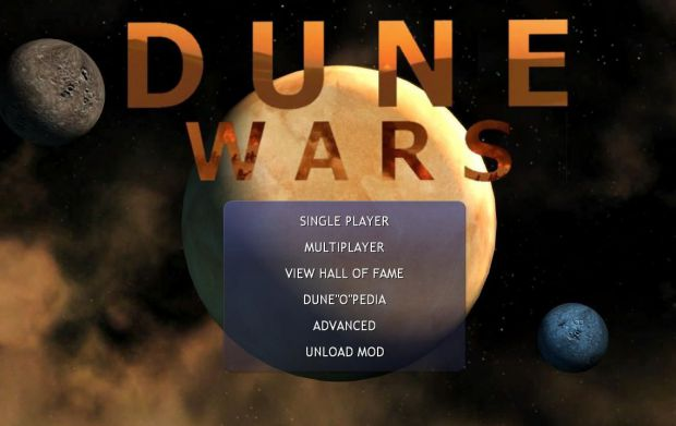 Dune Wars 1.7 Full Version for Steam