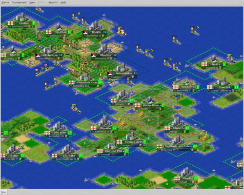 FreeCiv 2.2.0 Windows Release.