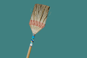 Broom instead of Crowbar
