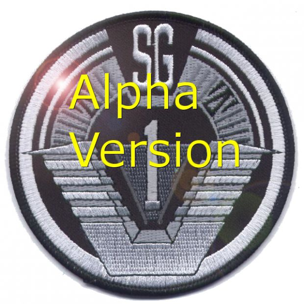 Stargate:  Adventures in the galaxy alpha version